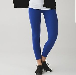 Lululemon Align pant Size 6 Sapphire blue